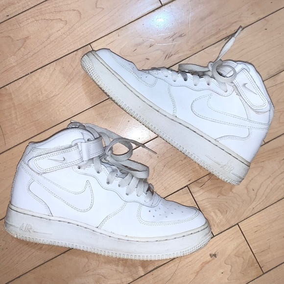 (Flawed) Nike Air Force 1 Mid Top White